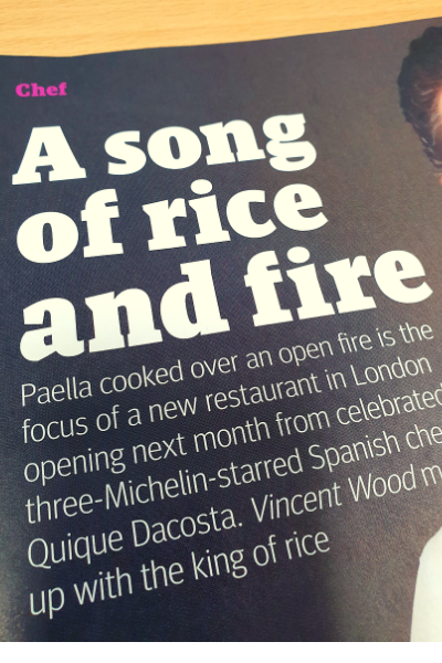 a song of rice and fire
