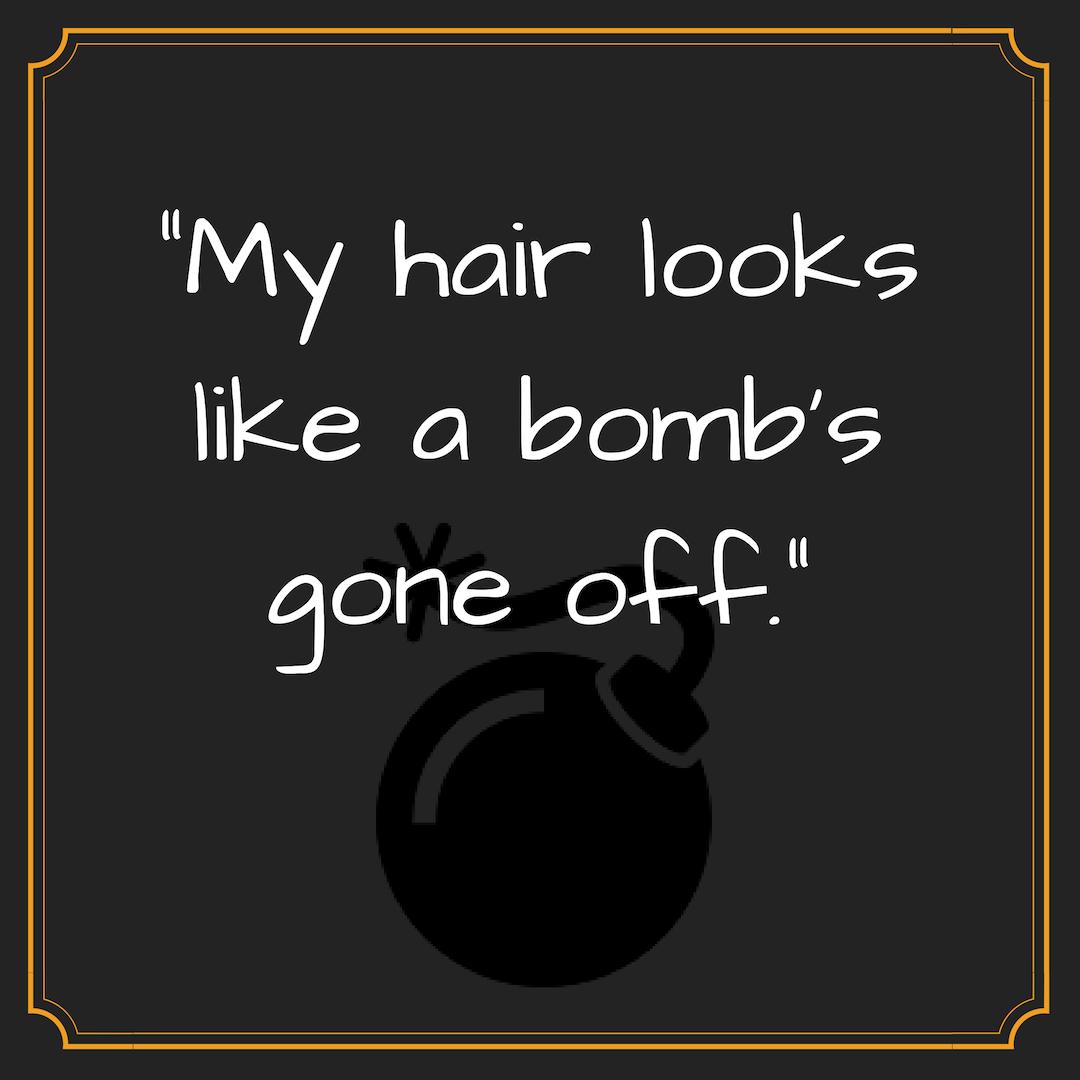Hair bomb