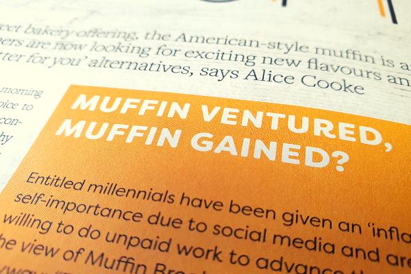 muffin ventured muffin gained