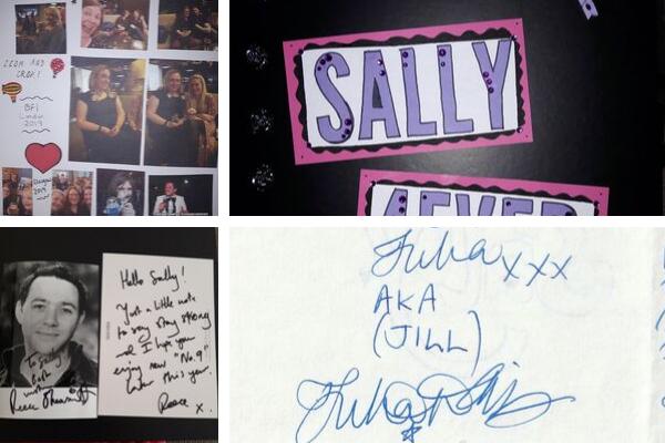 Sally's scrapbook